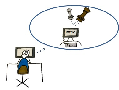 online vergadering